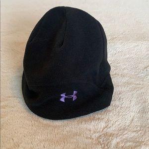 Under Armour Black Fleece Beanie Hat